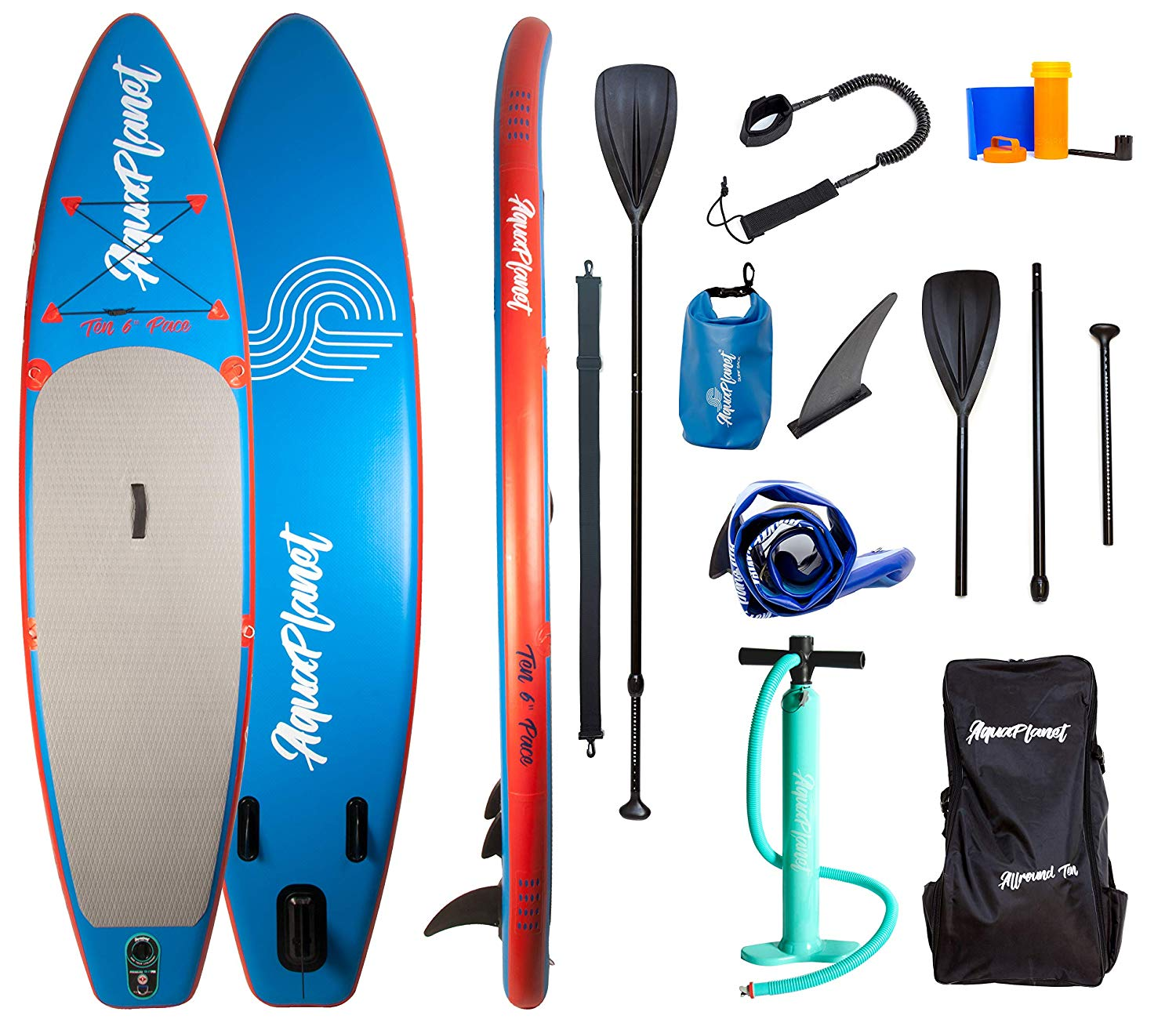 "Aquaplanet 10ft 6"" x 15cm PACE Stand Up Paddleboard"