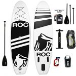 Inflatable Stand Up Paddle Board by Roc Paddleboards – Best Included Air Pump