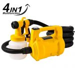 Meditool Portable 650W HVLP Electric Paint Spray Gun – Best For Small-Scale Paint Jobs