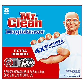 Mr. Clean Magic Eraser Extra Durable, Cleaning Pads with Durafoam