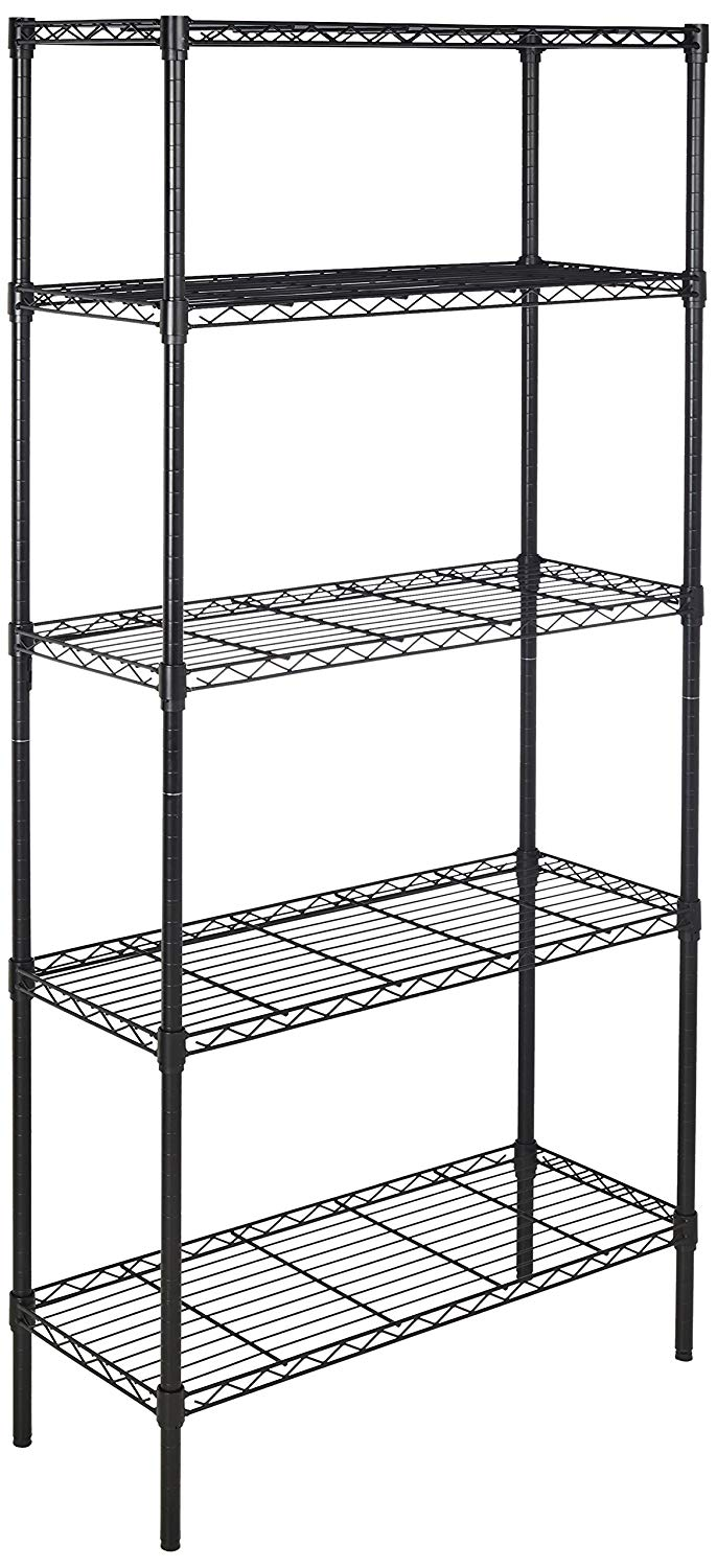 AmazonBasics 5-Shelf Shelving Unit